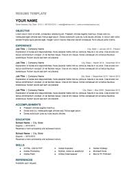 Best Google Resume Templates by Free Google Docs And Spreadsheet Templates Smart Sheet Best Cv