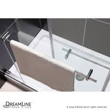 dreamline showers duet bypass sliding shower door