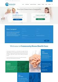 Home Care Website Design Inspiration Examples Of The Best Health Landing Page Designs