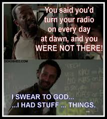 Walking Dead Stuff And Things Meme - the walking dead know your meme