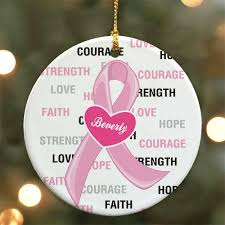 personalized breast cancer awareness pink ribbon giftshappenhere