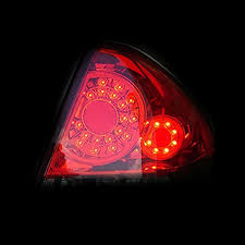 04 impala led tail lights 10 chevy impala ss ls lt euro style led tail lights red clear