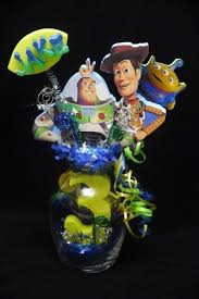 toy story 3 glass vase centerpiece by adianezh on zibbet