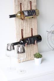 my diy barn wood wine rack