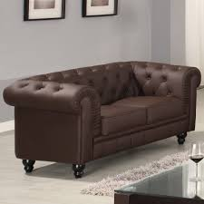 canap 2 places chesterfield canapé chesterfield marron capitonné 2 places canapé topkoo