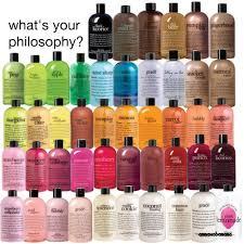 philosophy bath and shower gel hair and