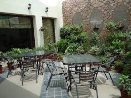 a small garden restaurant picture of hotel ratnawali jaipur
