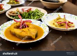 cuisine patin pahang malaysian traditional food ikan patin stock photo 544560469