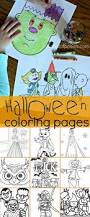 color fun halloween coloring pages