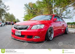 modified toyota camry tuned car toyota camry editorial photography image 38714012