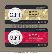 gift cards for business gift certificate stock images royalty free images vectors