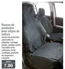 housse de protection siege voiture aldi promotion housse de protection pour sièges de voiture