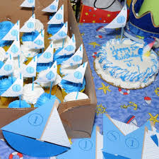 sailboat u0026 nautical first birthday party for joshua belly