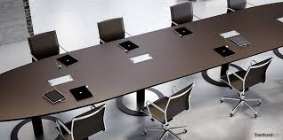 Modular Conference Table System Multipli Ceo Leather Meeting Table Office