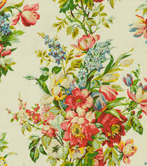 home decor print fabric waverly grand entrance ivory joann