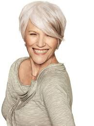 short gray haircuts for women over 60 salt pepper stylish and chic short hair for mature women
