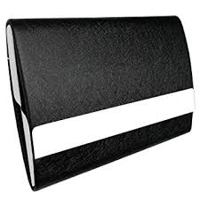 Business Card Holder Amazon Bolier Professional Business Card Holder 100 Handmade Leather