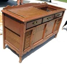 antique record album cabinet record player cabinet furnishing the vinyl record revival modern