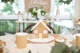 Gingerbread House Decoration The Perfect Gingerbread House Decorating Party For Kids Shutterfly