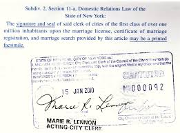 marriage certificate apostille marriage license apostille