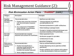 risk management plans exhibit 3 a risk management lodpfodus risk