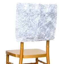 satin ribbon wholesale 100 pcs satin ribbon roses square chair cap covers wedding party