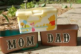 lettre decorative metal decorative storage from baby wipe boxes horrible housewife