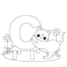 get this alphabet coloring pages to print for kids 06741