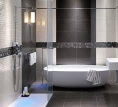 Modern Gray Tile Bathroom Inspirational Modern Gray Tile Bathroom 59 Awesome To Home Design