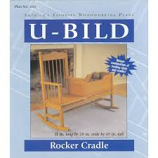 Free Cradle Furniture Plans by Shop U Bild Rocker Cradle Woodworking Plan At Lowes Com