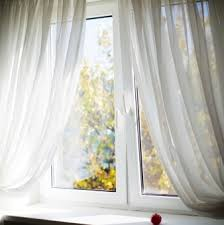 White Window Curtains Unbelievably Versatile Window Treatments For Large Windows