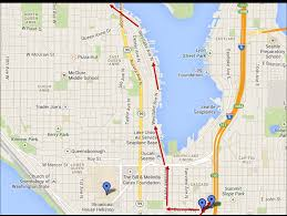 Seattle On A Map by Nirvana Tour Of Seattle Doing The Mileage So You Don U0027t Have To