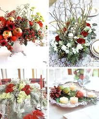 how to make a christmas floral table centerpiece simple christmas centerpieces great easy centerpiece ideas within