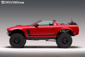 lifted cars ford mustang baja concept redneck raptor or perfect pony car