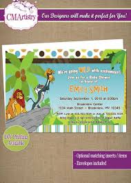 baby shower invitations new lion king baby shower invitations high