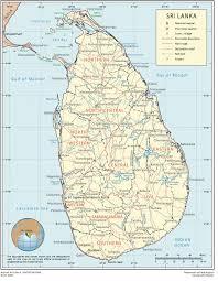 Bay Of Bengal Map Map Of Sri Lanka