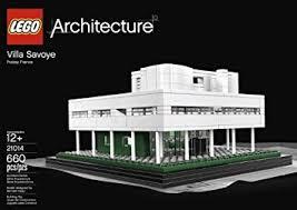 Villa Savoye Floor Plan Amazon Com Lego Architecture Villa Savoye 21014 Toys U0026 Games