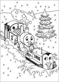 thomas trein kleurplaat thomas train coloring knutselen