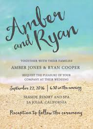 Free Sample Wedding Invitations 24 Beach Wedding Invitation Templates U2013 Free Sample Example