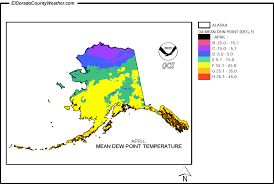 us dewpoint map index of climate us climate maps images alaska temperature
