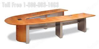 Metal Conference Table Wood Veneer Conference Tables Large Oversized Office Furniture