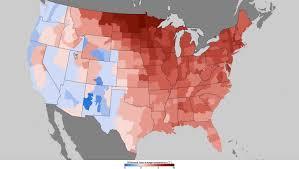 Southeast Usa Map by U S Has Fourth Warmest Winter On Record West U0026 Southeast Drier