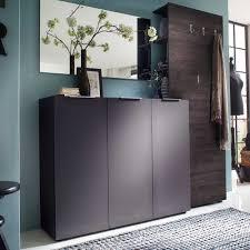 garderobe modern design garderobenkombination neago in anthrazit wenge pharao24 de