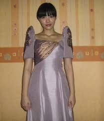 the terno gown u2013 sewing projects burdastyle com