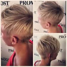 side and front view short pixie haircuts undercut sides and back pixie multiple views via undercut
