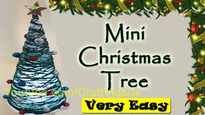 fake mini christmas tree tabletop christmas tree how to make a
