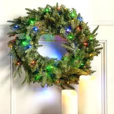 wreaths with lights battery operated bttery operted