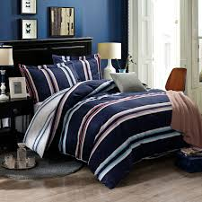 Blue Striped Comforter Set Navy And White Striped Bedding Sets Fun Ideas Navy And White