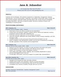 Sample Resume Objectives For Customer Service by Customer Service Manager Resume Creative Resume Design Templates
