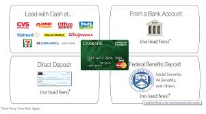 prepaid cards with direct deposit cascade prepaid card earn up to 100 back to be